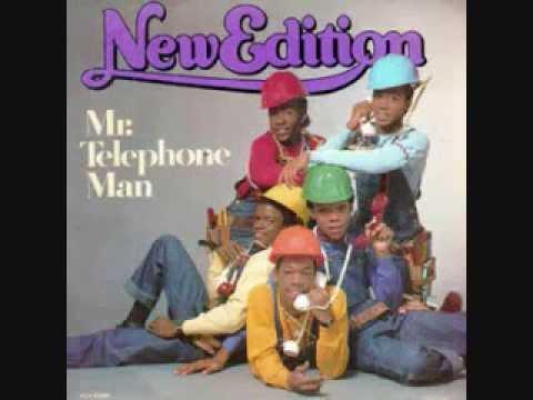 Mr Telephone Man New Edition Lyrics Youtube
