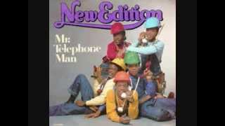 Mr. Telephone Man New Edition lyrics