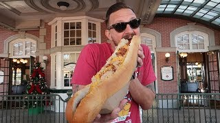 A Disney World Christmas Food Challenge! | 12 Days of Christmas Hot Dogs Extravaganza!