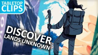 Discover Lands Unknown A Unique Card Game by Fantasy Flight Games