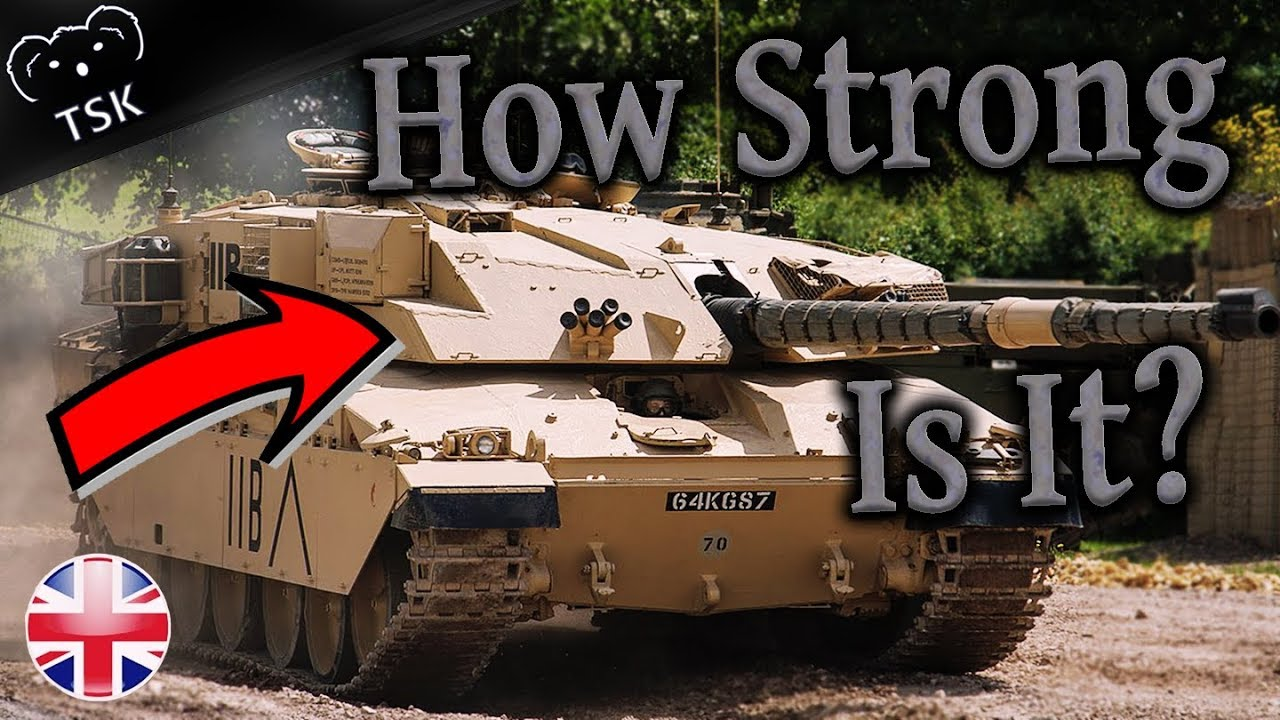 Challenger 1 Main Battle Tank - How Does it Work? - Is War Thunder     Correct?