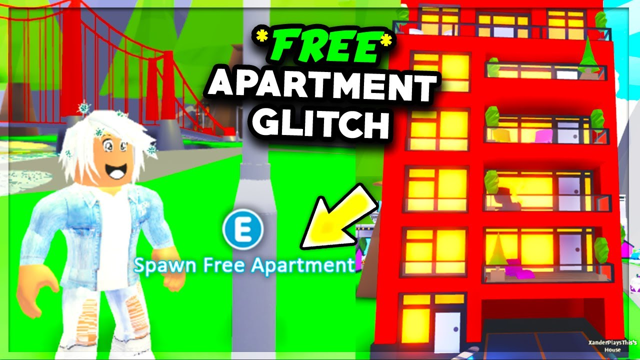 Get The New Apartment Free With This Glitch Adopt Me Roblox
