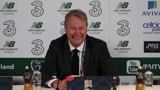 Ireland v Denmark: Age Hareide full press conference
