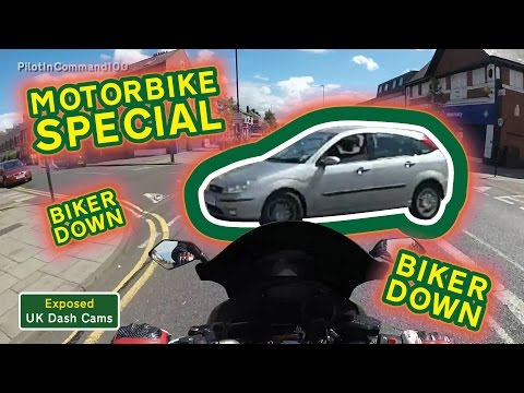 MOTORCYCLE / BIKE ROAD RAGE COMPILATION #2