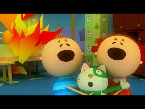 Аркадий паровозов мультфильм пожар