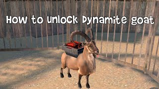 How to unlock Dynamite Goat - Goat Simulator Payday - iOS/Android