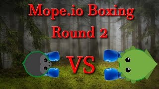 Mope.io in boxing ring || Round 2 || Slain.io