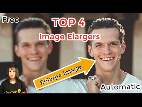 Best AI Image Image Enlarger?  Top 4 Image Software Compared to enlarge image free!