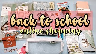 SHOPEE BACK TO SCHOOL HAUL ! Indonesia