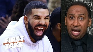 The Raptors beat the 76ers so bad even Drake was trolling – Stephen A. | First Take