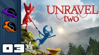 Let's Play Unravel 2 [Coop] - PC Gameplay Part 3 - Gobble Gobbled