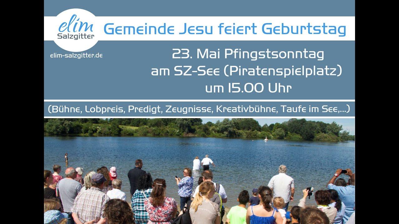 23.05. Pfingstgottesdienst findet am See statt