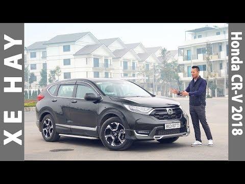 nhận xét xe Honda CR-V 2018 nhập khẩu giá từ 958 triệu ở Việt Nam |XEHAY.VN|