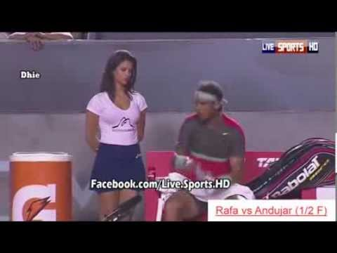 Tennis player Nadal together hot girl but why, i dont understand ?