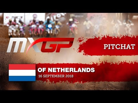 Pit Chat With Brian Bogers MXGP Of The Netherlands Assen 2018 #Motocross
