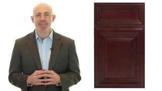 Niron Depot Presents The Fabuwood  Elite Merlot Kitchen Cabinet