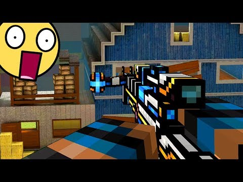 """The """"PALADIN"""" Laser Crossbow Is GODLY.. (Pixel Gun 3D)"""