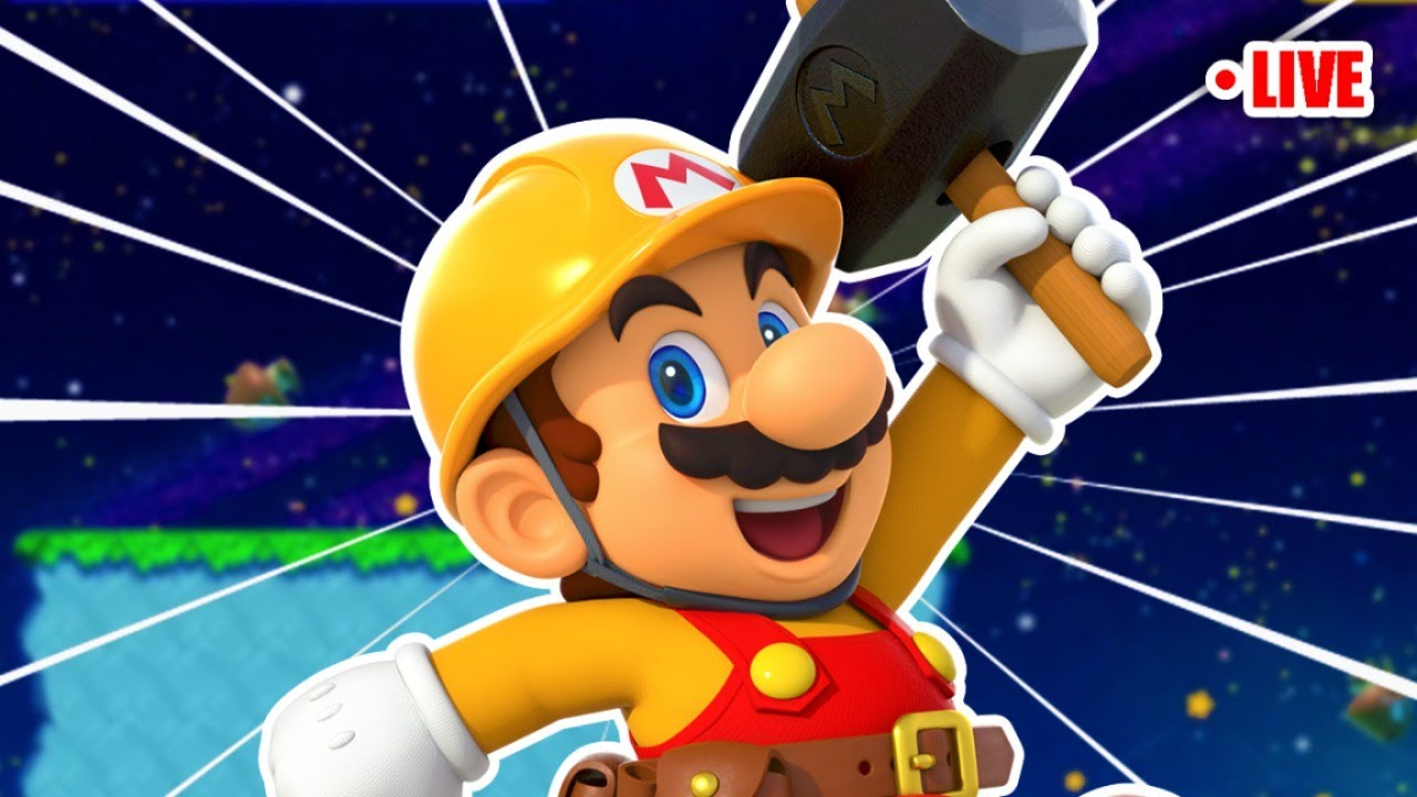 Mario Maker 2 Tonight 🌙  Submit Levels in Chat!