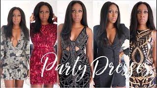 ASOS PARTY DRESS HAUL | FESTIVE SEASON LOOKBOOK | ASOS HAUL & TRY ON | PARTYWEAR HAUL