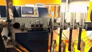 Станок для производства алюминиевых жалюзи чешской компании Zebr(На выставке R+T Russia 2013 в Москве, на стенде чешской компании Zebr был представлен станок для изготовления горизо..., 2013-10-07T01:08:00.000Z)