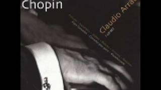 Claudio Arrau Chopin Prelude Op . 28 No.  3