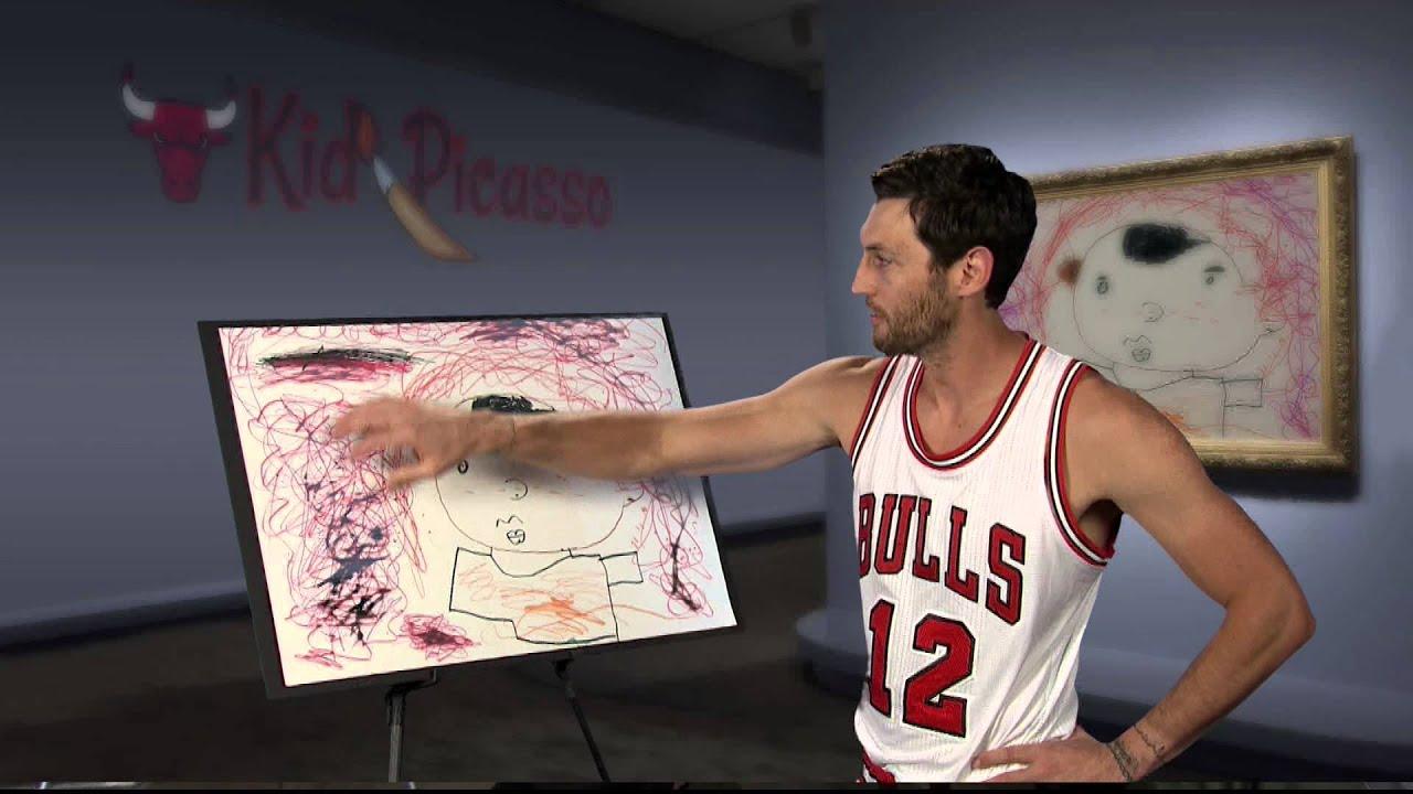Chicago Bulls Kid Picasso #2 (14-15)