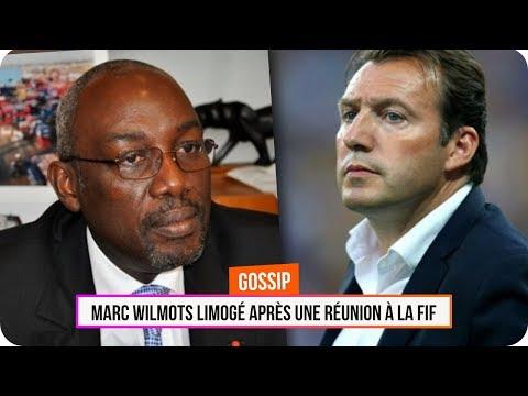 Marc Wilmots limogé après une réunion à la FIF (Abidjan)