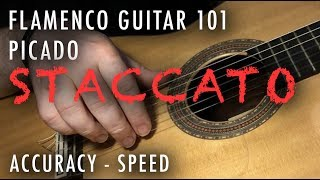 Flamenco Guitar 101 - 06 - Picado: Accuracy - Speed