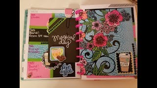Gambar cover Plan with me/Dollar Tree Stickers/Coffee theme