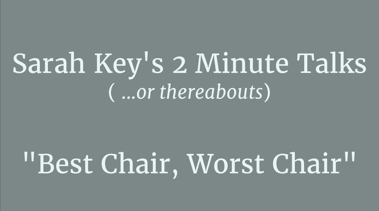 Best Chair, Worst Chair