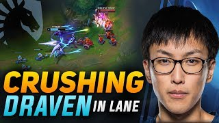 How Doublelift CRUSHES a DRAVEN Lane