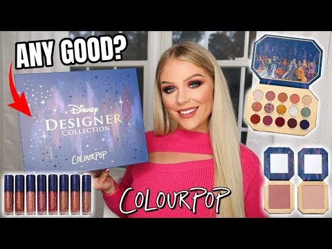 COLOURPOP DISNEY MIDNIGHT MASQUERADE COLLECTION | REVIEW + TUTORIAL & SWATCHES