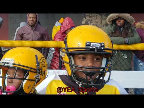 Pop Warner MightyMite Eastern Regional Championship North Philly Blackhawks vs West Philly Tarheels
