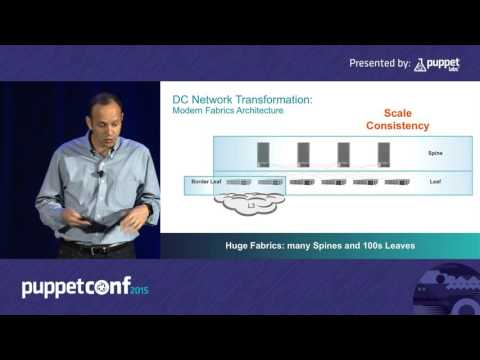 Managing Your Datacenter Network with Puppet