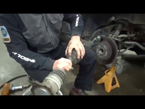 2005 Silverado CV Boot Replacement