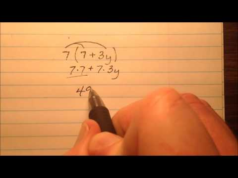 Generating Equivalent Expressions Distributive Property (CO.6.2.1.c)