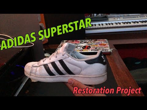 Adidas Superstar FULL RESTORATION PROJECT