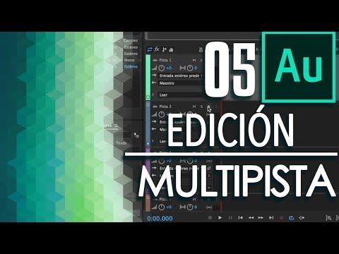 05 Edición Multipista | Tutorial Adobe Audition CC 2017
