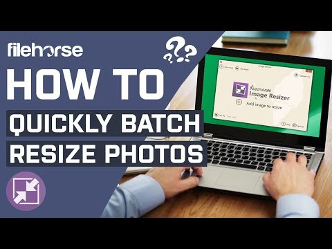 How To Quickly Batch Resize Photos