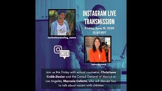Conversación con Christiana CobbDozier consejera escolar: 19 de junio