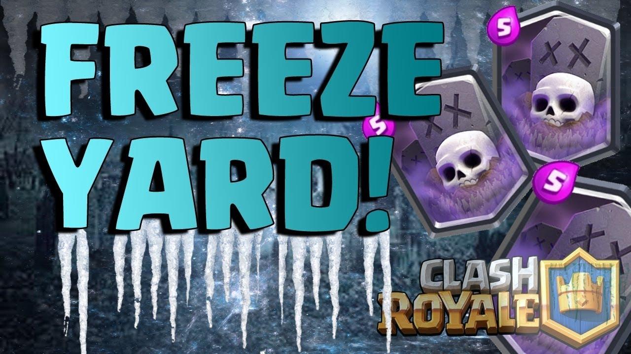 Graveyard Freeze Deck Freeze Yard
