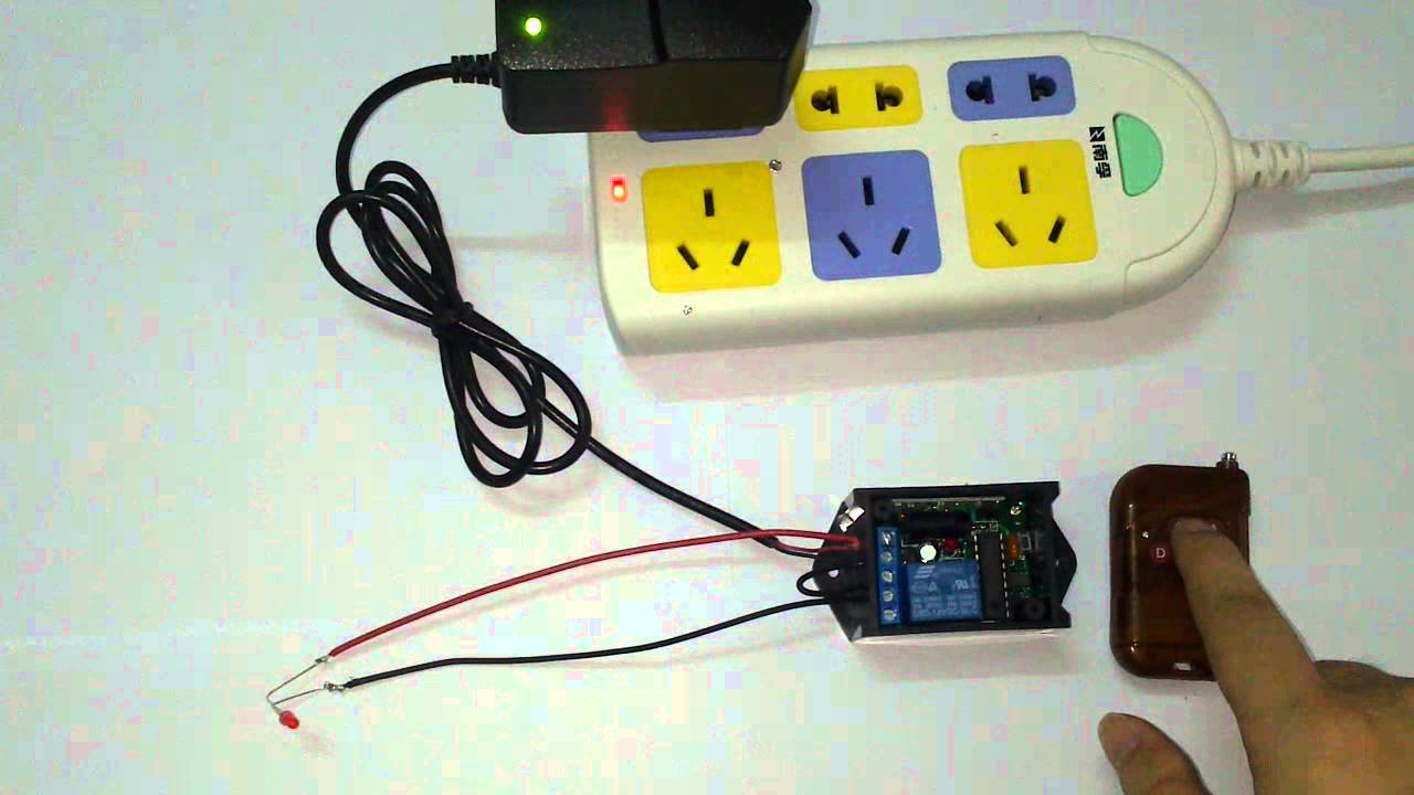 Rf Remote Control Blog Wireless Remote Control Power Strip