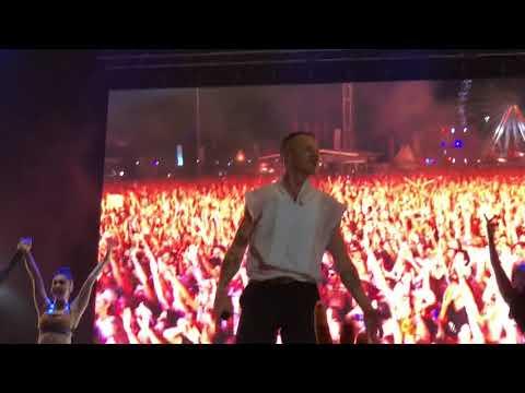 Macklemore - Dance Off live am Frequency 2018 (Dance Battle)
