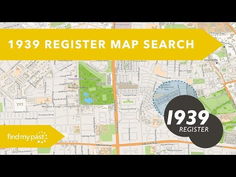 1939 Register Map Search | Findmypast