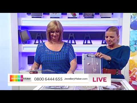 How to make Polymer Clay Jewellery - JewelleryMaker LIVE (am) 27/07/2014