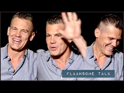 """Josh Brolin Cracks Up From His Own Instagram posts + His Mean DEADPOOL Diet and WorkOut for """"Cable"""""""