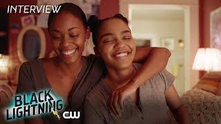 Black Lightning   Cast Magic Interview   On The Cw