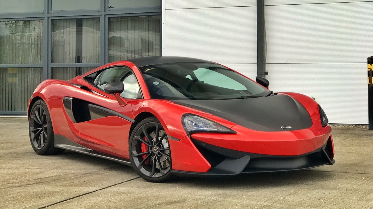 Re Wrapping My McLaren In Dub Fire Red