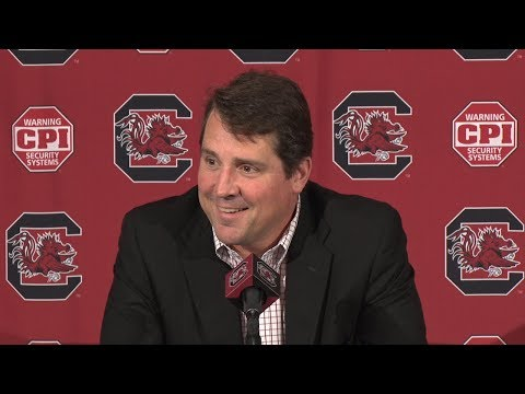 Will Muschamp Weekly News Conference — 11/6/18