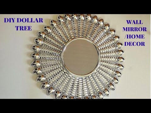 DOLLAR TREE GLAM WALL MIRROR/HOME DECOR